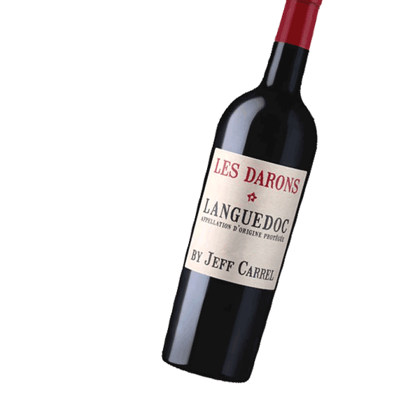 LES DARONS - BY JEFF CARREL Languedoc Rouge AOP 2018