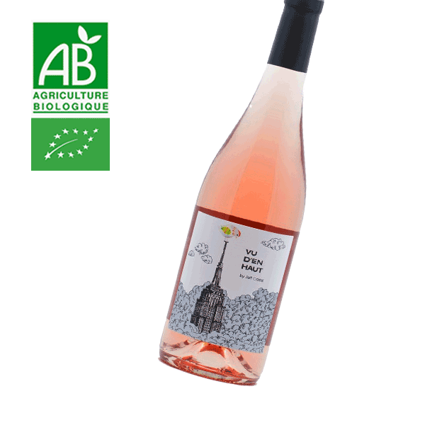 Vu d'en Haut Jeff Carrel Vin de France Rosé 2018