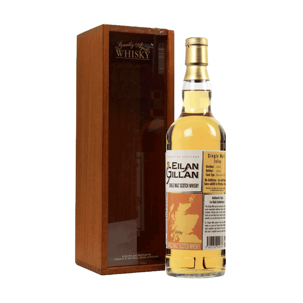 Eilan Gillan - Single Malt Whisky Islay Coffret bois 43%