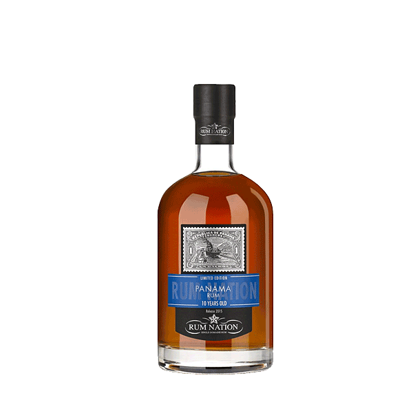 Rum Nation Panama 10 ans 40%