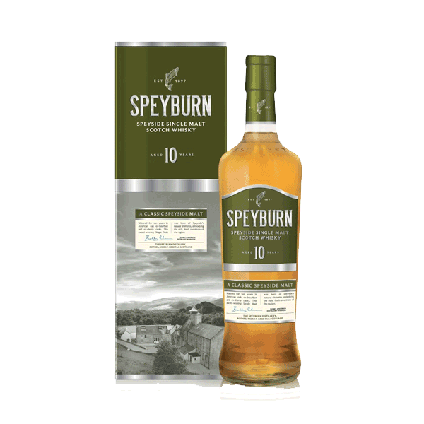 Speyburn 10 ans- Speyside Single Malt 40%vol