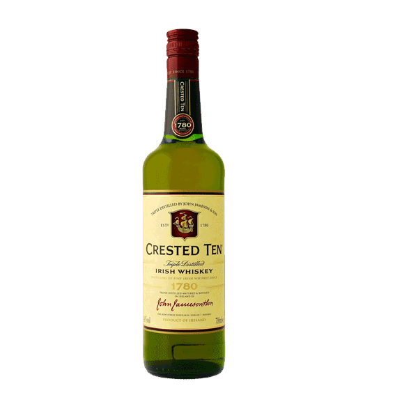 CRESTED TEN Jameson Irland Whiskey 40%
