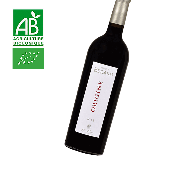 Origine - Chapelle Berard Bordeaux AOC 2015