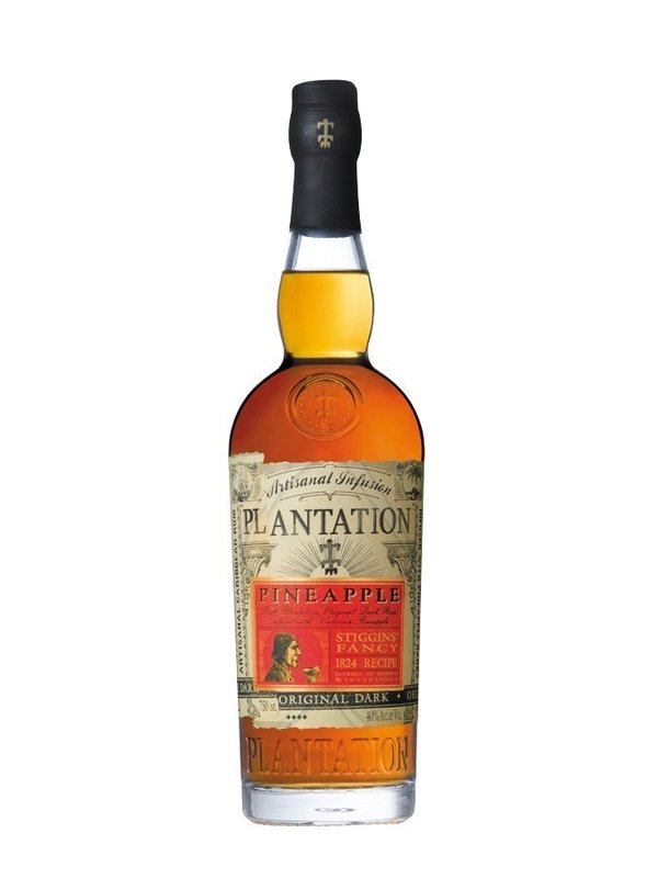 PLANTATION RUM Stiggins Fancy Pineapple 40%